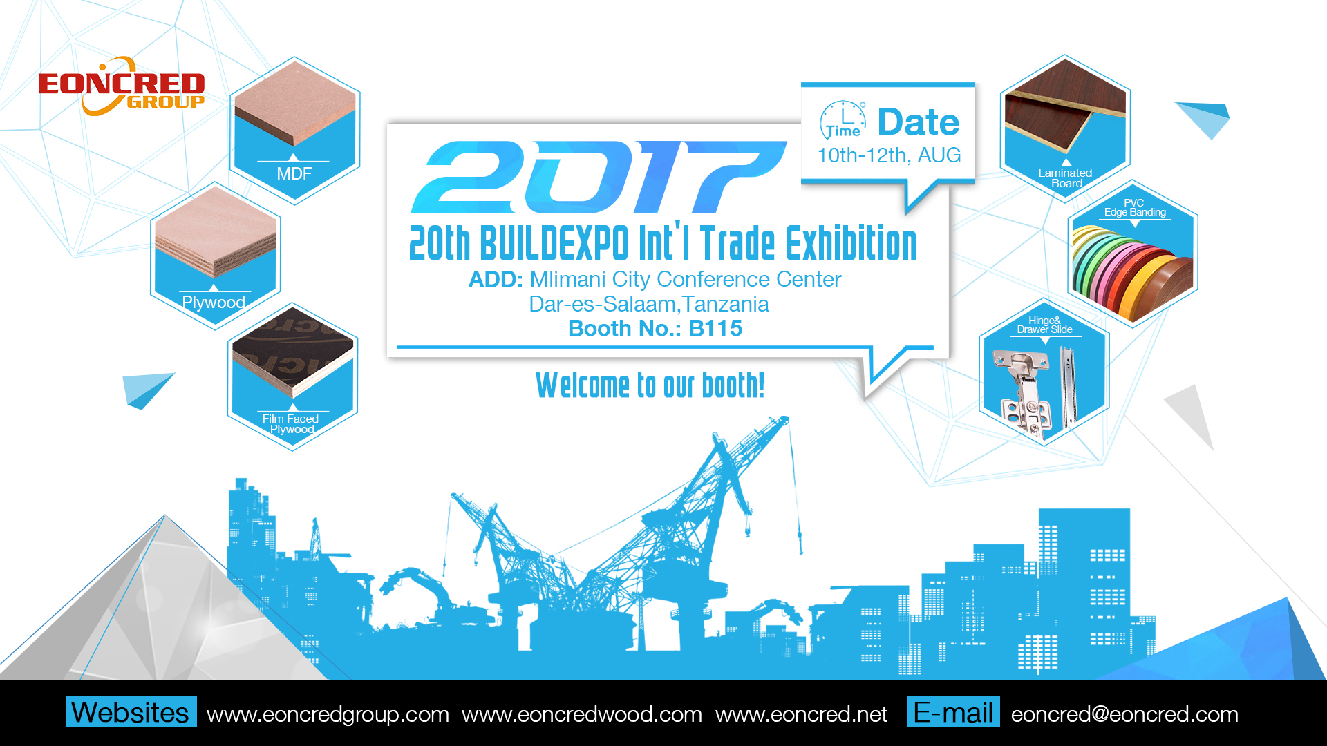 2017 20th BUILDEXPO Int'l Trade Exhibition